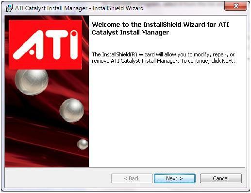 ATI/AMD Catalyst — программное обеспечение и драйвер для видеокарт ATI Radeon.Это диспетчер установки драйверов для железа AMD - ATI. Штука достаточно бестолковая, но если дрова ставишь вручную, его не обойдёшь.
