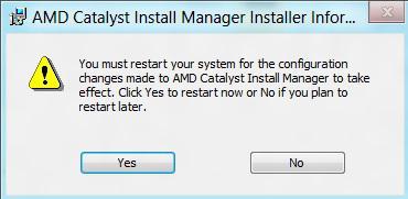 Ati catalyst install manager là gì