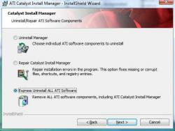 <b>ATI</b> <b>Catalyst</b> <b>Install</b> <b>Manager</b> spinnt - was tun?