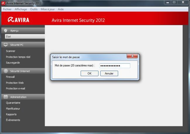GRATUIT INTERNET 2012 SECURITY JOUR MANUELLE TÉLÉCHARGER MISE AVIRA A