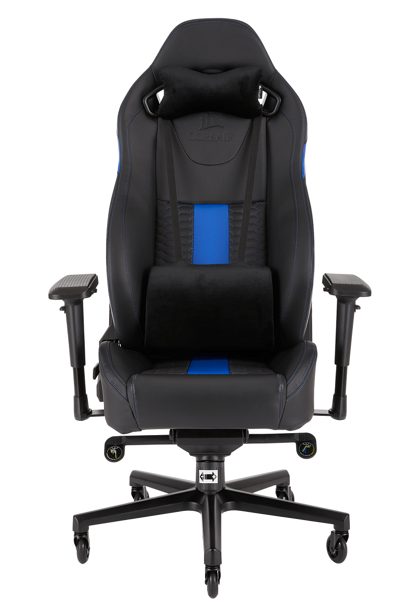 corsair nous propose une nouvelle chaise gaming la t2 road warrior. Black Bedroom Furniture Sets. Home Design Ideas