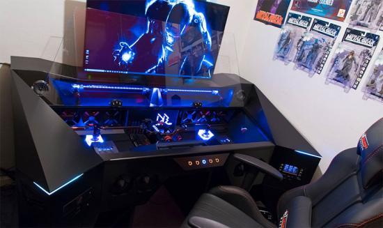 un pc gamer plus de 6000 un pc fait maison. Black Bedroom Furniture Sets. Home Design Ideas